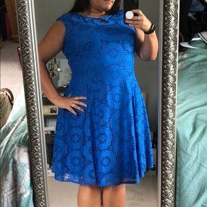 Beautiful Blue Dress Plus Size